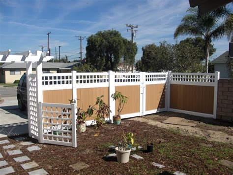 wood fence front yard privacy fence front yard there s no place like home
