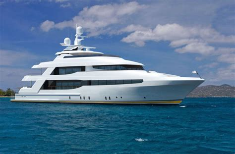 yacht view crescent 144 superyacht side view yacht charter