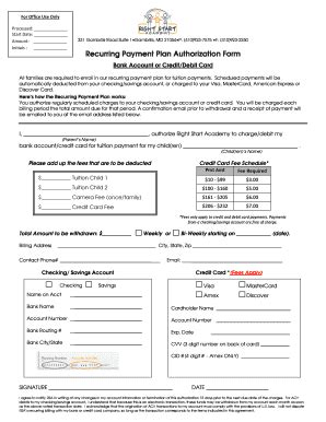 credit card authorization form template 10 free sample example