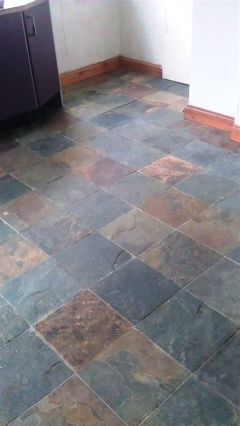 Riven Slate Floor Cleaning in Lincoln   Lincolnshire Tile