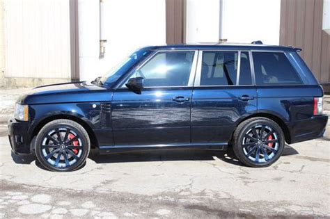 auto body repair training 2008 land rover range rover sport head up display sell used 2008 range rover supercharged immaculate full overfinch kit in glenview illinois