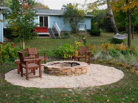 pit patio designs diy pit landscaping ideas