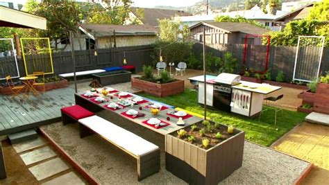 Hgtv Backyard Makeover Giveaway - midcentury modern backyard makeover video hgtv