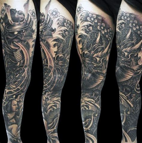 samurai warrior sleeve tattoos designs 50 samurai designs for noble japanese warriors