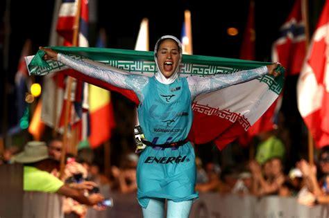 What Do You Think Of Jlos Triathlon by Shirin Gerami Makes Triathlon History In At Ironman