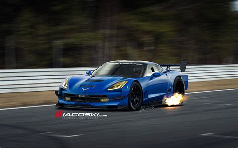 2014 corvette c7 gt illustrated by iacoski ebeasts