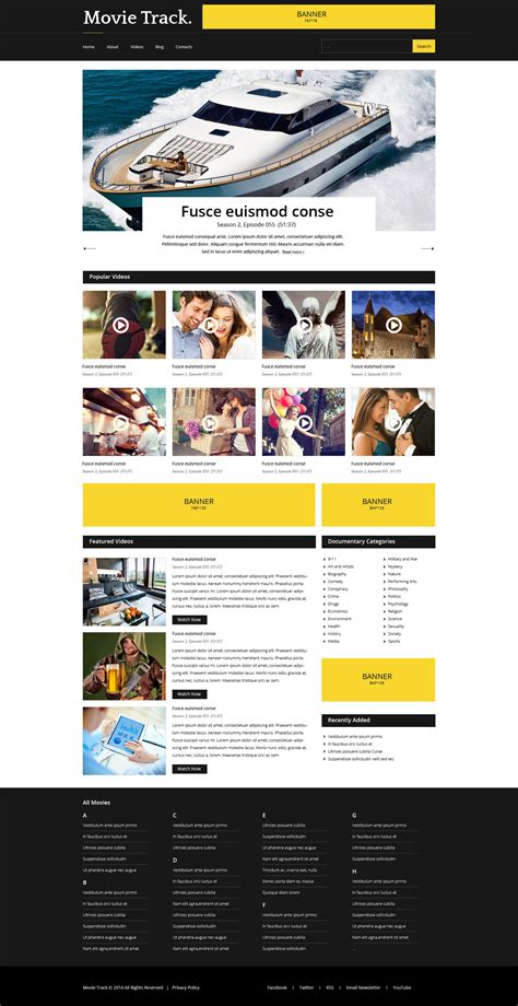 Media Website Template by Media Website Template 51353 Templates