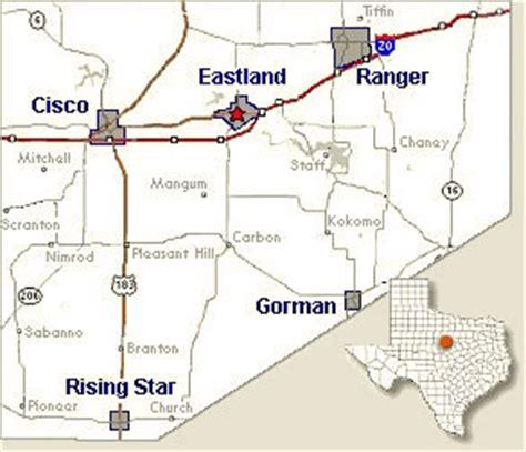 eastland texas map transportation in eastland county texas