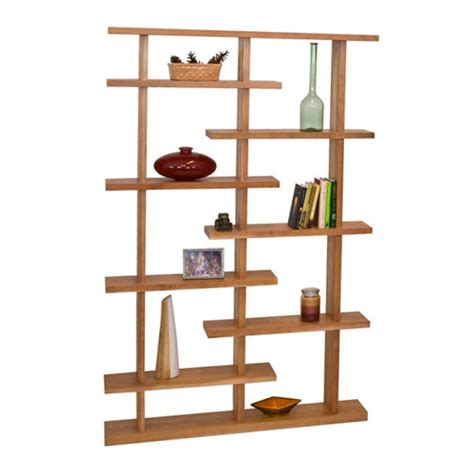 contemporary bookcase new york modern bookshelves solid wood home office furniture