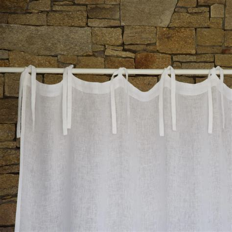 white linen curtain white linen gauze curtain maison d 233 t 233