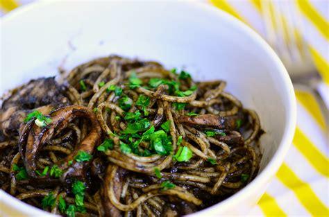 spaghetti al nero di seppia squid ink pasta a kitchen for friends