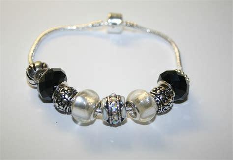 black and white bead bracelet black and white beaded bracelet ebay