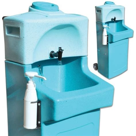 portable shoo sink with waste container portable sink edusentials