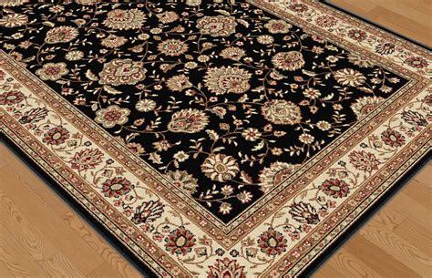 elegance rugs tayse area rugs elegance rug 5143 black traditional rugs area rugs by style free