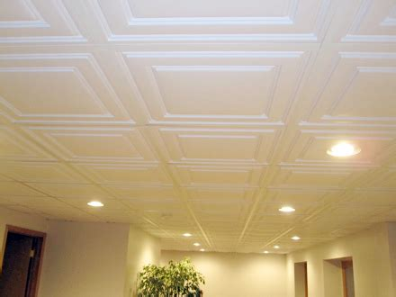 Drop Drywall Ceiling by Basement Ceiling Choices Which Type Of Ceiling Best