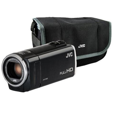 Jvc 2007 High Definition Everio Camcorder by Jvc Gz E100b Bundle Everio High Definition Camcorder With