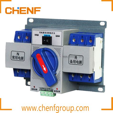 china manufacture manual transfer switch generator change