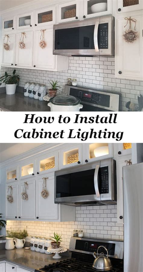 how to install lower kitchen cabinets how to install kitchen cabinet lighting the honeycomb home
