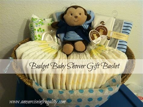 ideas for baby shower gift baskets style by how to make a budget baby shower basket an exercise in