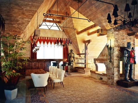medieval house interior castle themed interiors