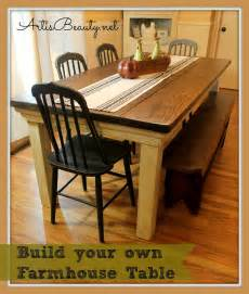 Build Your Own Kitchen Table Is How To Build Your Own Farmhouse Table For 100