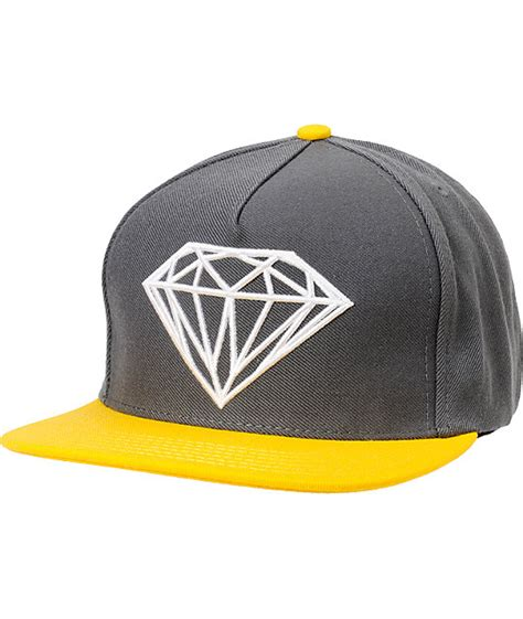 yellow grey hat supply co brilliant grey yellow snapback hat