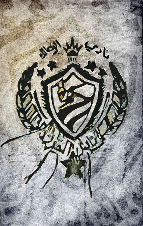free wallpaper zamalek zamalek concept logo by abogenio on deviantart