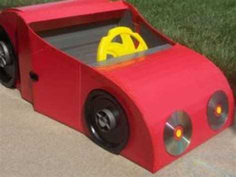 How To Make A Race Car Out Of Paper - how to make a car from a cardboard box with pictures ehow