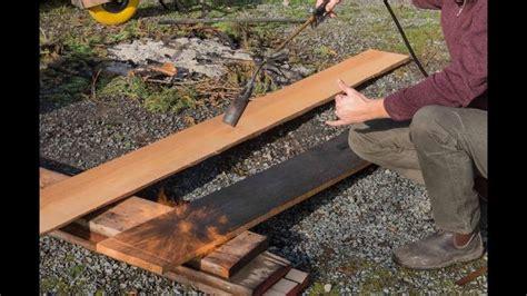 Burning Wood Siding To Preserve - 25 best burnt wood ideas on japanese