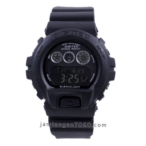 Digitec Digital Black Original harga sarap jam tangan digitec dg 2098t black