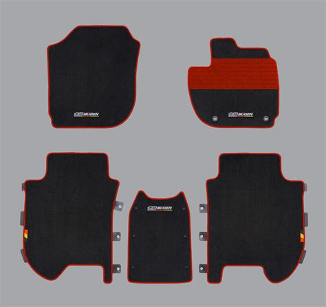 mugen floor mats for the 2014 honda jazz indian autos