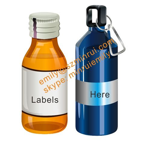 printable vinyl for water bottles custom liquid bottle self adhesive labels printing custom