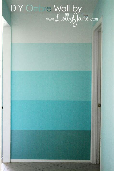 creating an ombre feature wall finish with chalk paint 174 by
