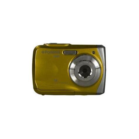 yellow polaroid polaroid is525 yel fotocamera digitale impermeabile giallo