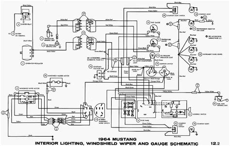 ford mustang ignition wiring diagrams auto electrical wiring diagram