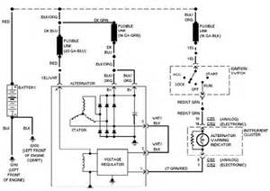 1985 Bronco Charging System Wiring Diagram Ford Taurus Charging System Interconnecting Wiring Diagram