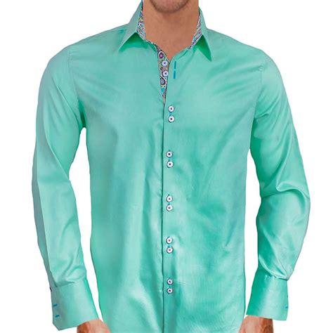 light mint green dress shirt mint green casual dress shirts