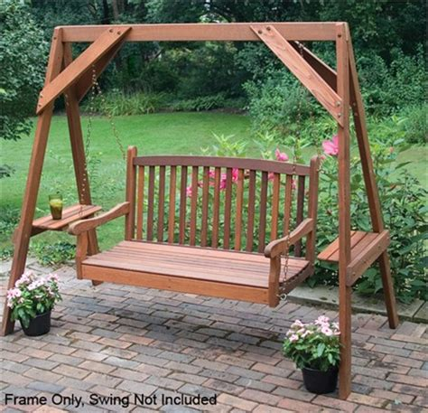 a frame swing stand plans metal puzzle box blueprints how to make a wood pallet