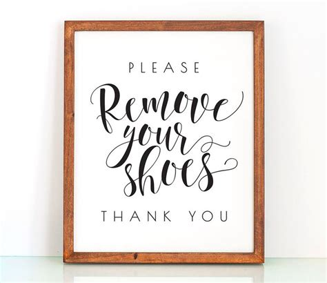 no shoes in the house sign printable 25 best ideas about shoes off sign on pinterest your shoes no shoes and shoe basket