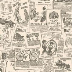 Decoupage With Newspaper Clippings - memories 2 g56142 brewers wallpapers vintage style