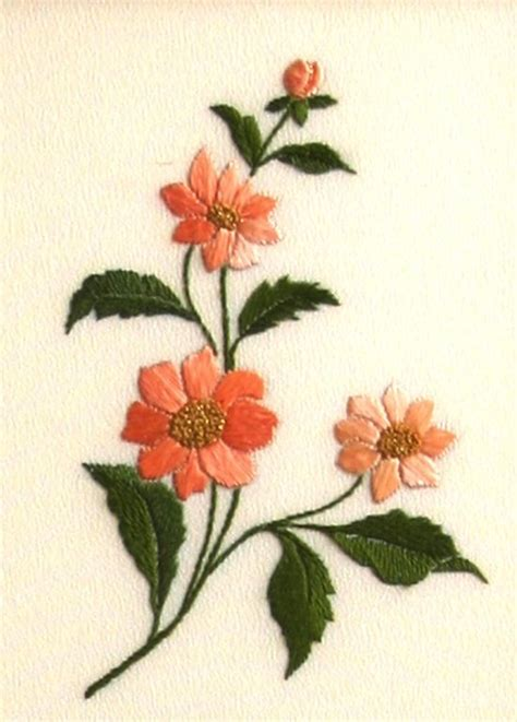 flower pattern embroidery design japanese flowers embroidery japanese embroidery