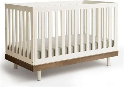 Modern Convertible Crib by Convertible Crib In Walnut Modern Cribs By Allmodern