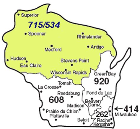 us area codes beginning with 9 715 for superior duluth day