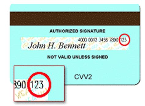 Where Is The Pin Number On A Visa Gift Card - csc cvv2 cvc2 explanation