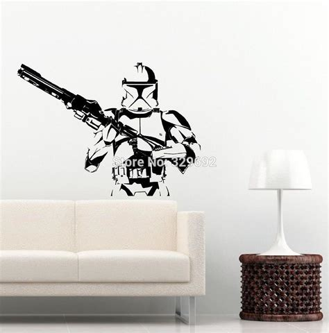 wars wall sticker stickers wars mural 28 images wars stormtrooper darth vader vinyl wall stickers wall decals