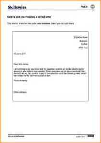 9 formal letter layout financial statement form