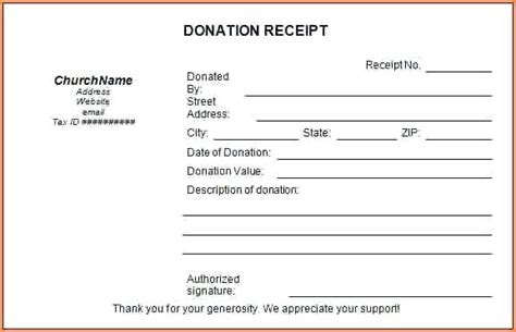 tax receipt for donation template canada tax donation receipts receipt for tax deductible donation