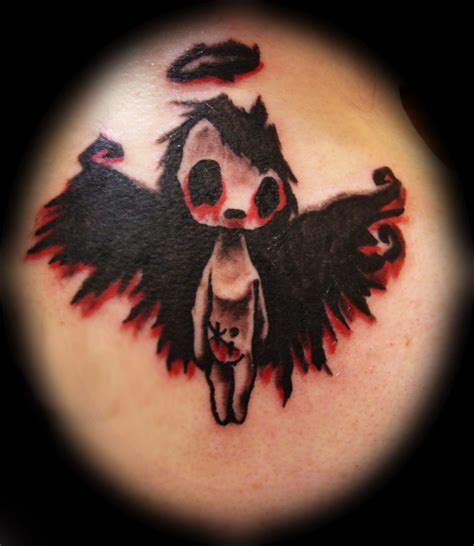 gothic angel tattoo designs tattoos and designs page 536