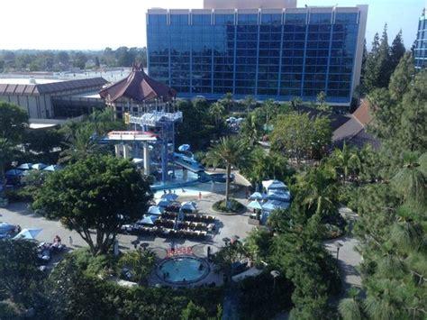 Disneyland Hotel Frontier Tower 12th Floor Rooms - view from room 2580 frontier tower s 7th floor