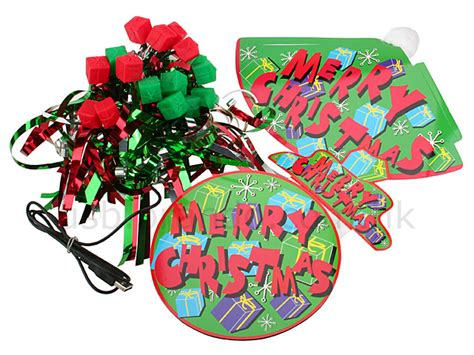 christmas decoration kit usb holliday decorations
